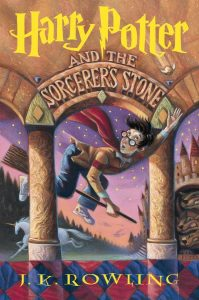 Harry Potter and the Sorcerer's Stone, by J.K. Rowling