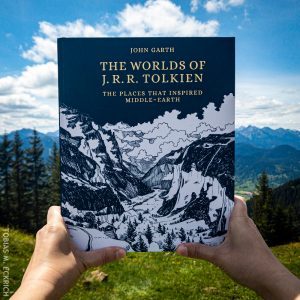 The Worlds of JRR Tolkien, Alps Background, by Tobias M. Eckrich